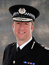Simon Bailey, chief constable of Norfolk, who is co-ordinating the Operation Hydrant figures Ic credit: Norfolk Constabulary